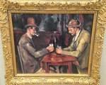 カード遊びをする二人の男たち ポール・セザンヌ