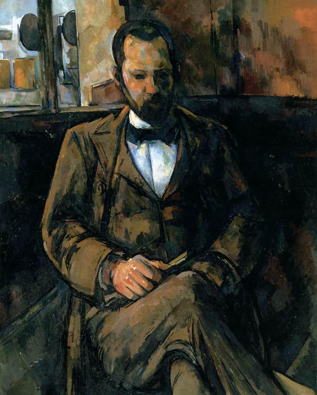 アンブロワーズ・ヴォラールの肖像 ポール・セザンヌ