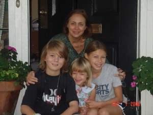 Virginia Smith, John, Meg, Katie