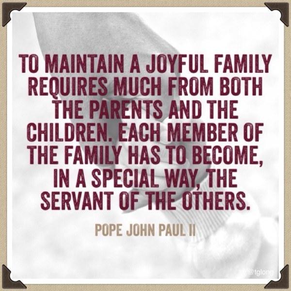 Pope John Paul II #quote