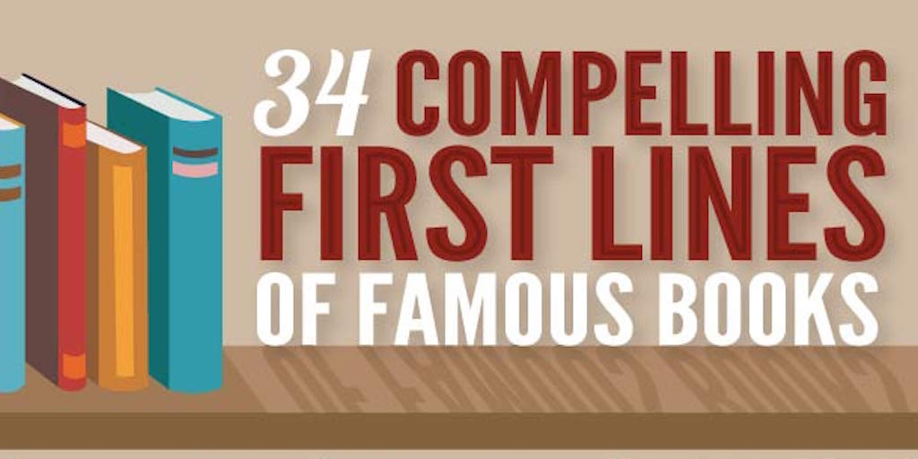 Scribendi: 34 Compelling First Lines