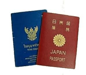 ワークパミット(労働許可証)と退職時のビザに関するご注意