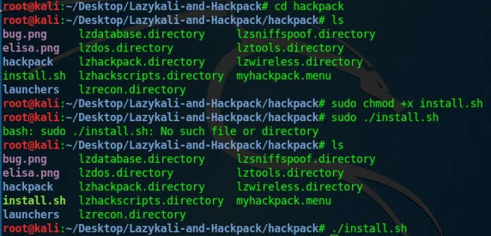 How to install Hackpack
