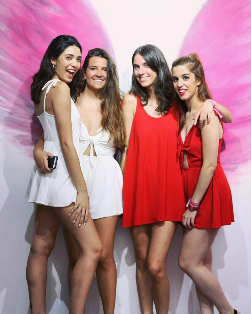 equipo chicas THE-ARE Madrid
