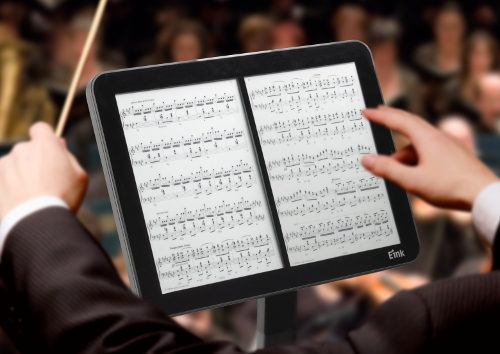 E Ink Music Stand