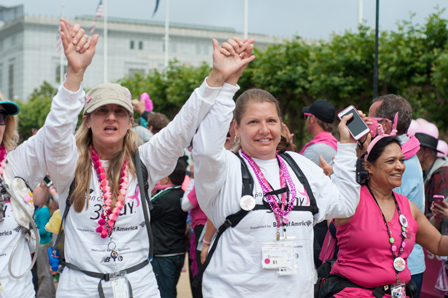 closing 2013 San Francisco Bay Area Susan G. Komen 3-Day breast cancer walk