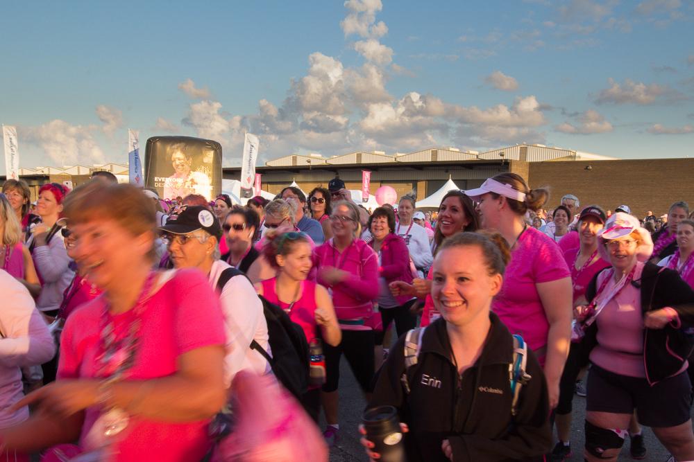 opening 2013 Cleveland Susan G. Komen 3-Day breast cancer walk