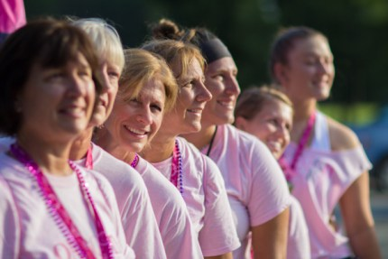 """""""The Gilmore Girls"""" participate in their first Susan G. Komen 3-Day® to honor their mother and grandmother who lived in Ohio"""