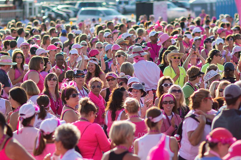 opening 2013 Chicago Susan G. Komen 3-Day breast cancer walk