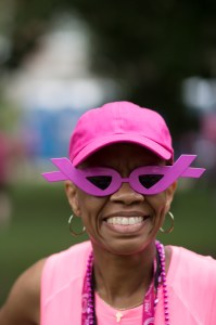 Susan G. Komen walkers gear up and take on Day 3 to find a cure for breast cancer.