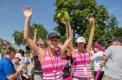 hands up 2013 Michigan Susan G. Komen 3-Day breast cancer walk