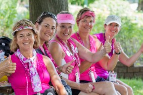 thumbs up 2013 Michigan Susan G. Komen 3-Day breast cancer walk