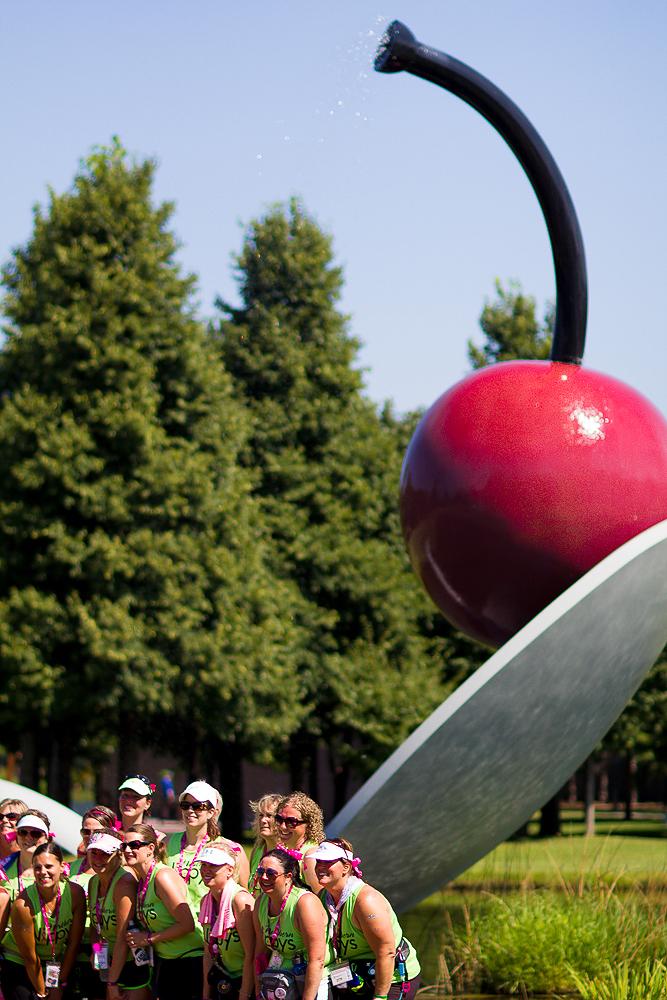spoon cherry 2013 Twin Cities Susan G. Komen 3-Day breast cancer walk minneapolis st. paul