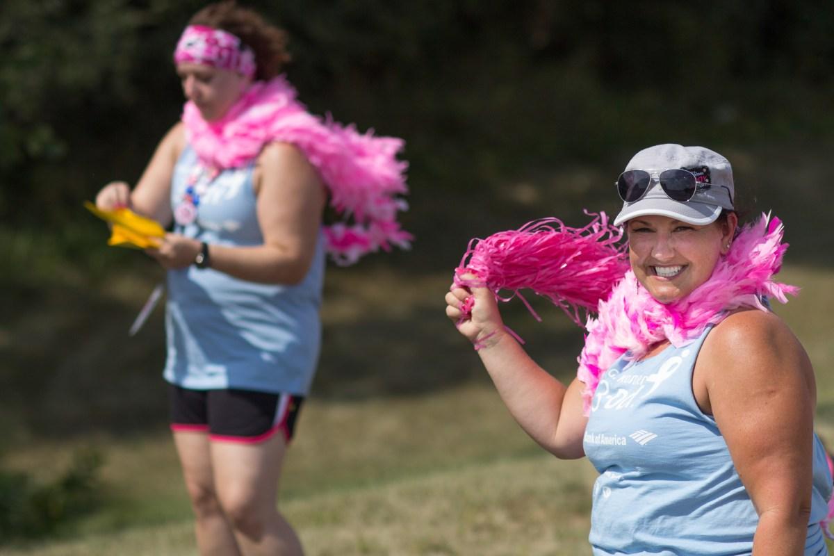 crew cheer pom pom 2013 Twin Cities Susan G. Komen 3-Day breast cancer walk minneapolis st. paul