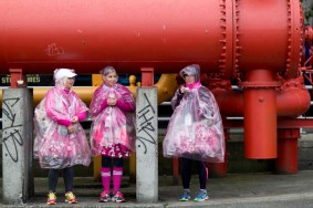 rain poncho 2013 Seattle Susan G. Komen 3-Day breast cancer walk