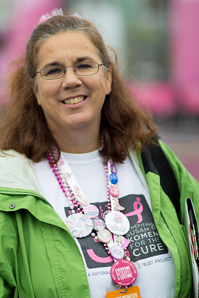"Kathleen Butler is team captain of ""Girlapalooza"" a large group of Susan G. Komen 3-Day® walkers that claims members all over the country"