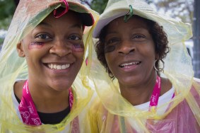 african american women rain poncho 2013 Washington DC d.c. Susan G. Komen 3-Day breast cancer walk