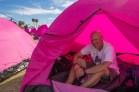 John Shinar Pink Tent Susan G. Komen 3-Day Breast Cancer Walk