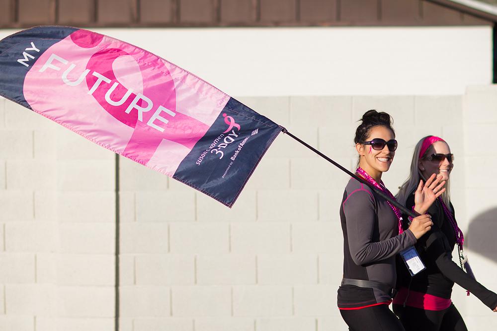 Future Flag Bearer Tribute Flag Susan G. Komen 3-Day