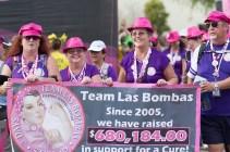 Team Las Bombas Susan G. Komen 3-Day Breast Cancer Walk