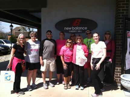 2014 susan g. komen 3-day breast cancer walk philadelphia training new balance