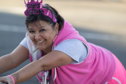 susan g. komen 3-Day breast cancer walk training stretching