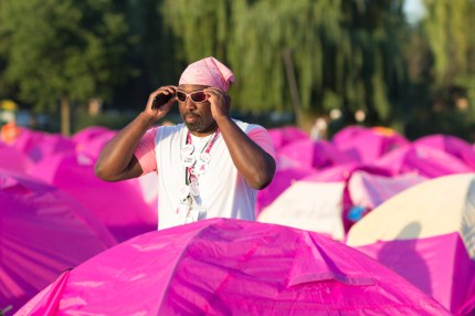 susan g. komen 3-day breast cancer walk reasons why it's great to be a guy on the 3-Day sleeping tents