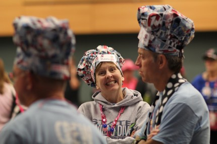 susan g. komen 3-Day breast cancer walk blog crew early
