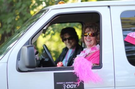 susan g. komen 3-Day breast cancer walk blog crew sweep