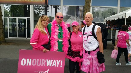 susan g. komen 3-Day breast cancer walk june seattle puget sound race for the cure