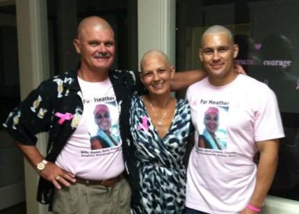 susan g. komen 3-Day breast cancer walk san diego marines american flag