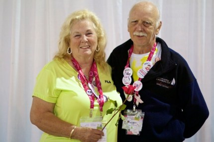 Dennis and Sandy McGee celebrated 51 years of Marriage on Day 3 of the Susan G. Komen 3-Day