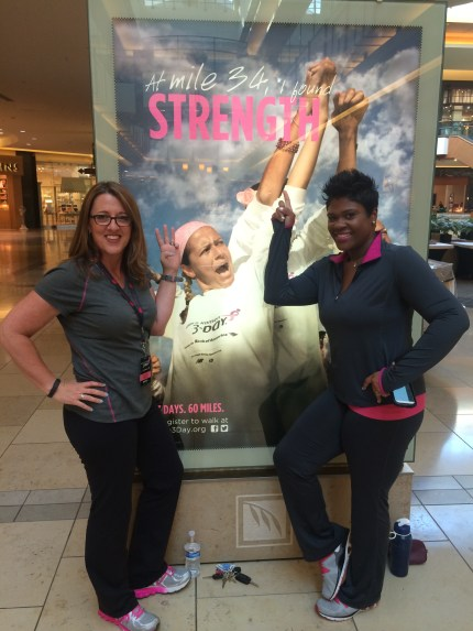 susan g. komen 3-day breast cancer walk blog nikia dallas fort worth strength