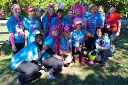 susan g. komen 3-day breast cancer walk 60 miles blog dallas fort worth pink soles in motion