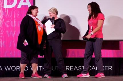 Susan G. komen 3-Day breast cancer walk blog san diego top fundraisers crew