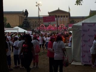 susan g. komen 3-Day breast cancer walk blog training meet-up 2015 may philadelphia