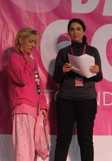 susan g. komen 3-Day breast cancer walk blog philadelphia award winners top fundraiser