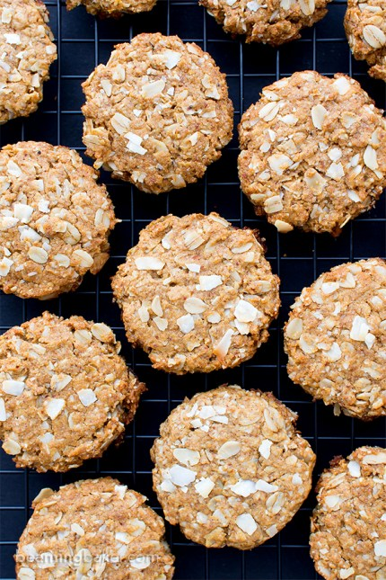 Peanut-Butter-Coconut-Oatmeal-Cookies-Vegan-Gluten-Free-Dairy-Free-Whole-Grain-4