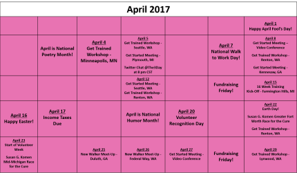 April Fundraising Calendar V03