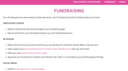 Fundraising Tools