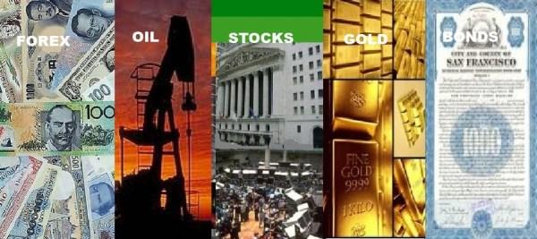 CURRENCIES-OIL-STOCKS-GOLD-BONDS-CAPTIONS
