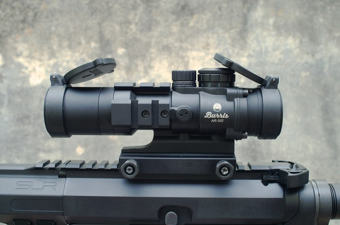 Burris Rifle scope for AR-15