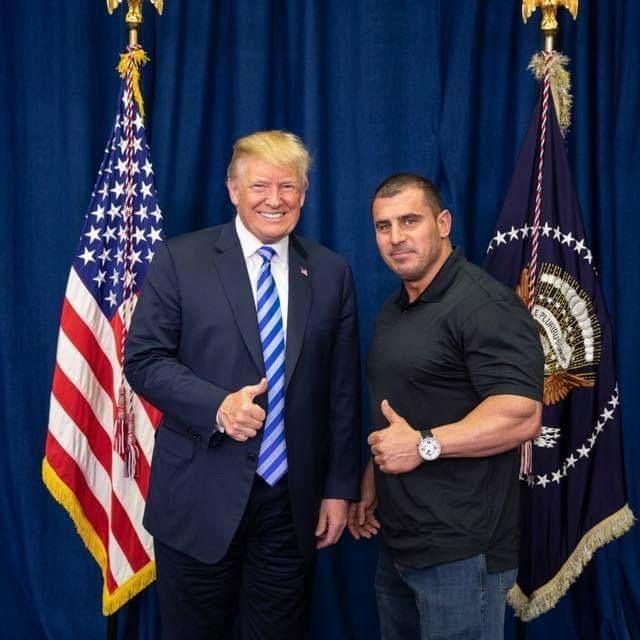 John Bartolo and President Trump at the Whitehouse