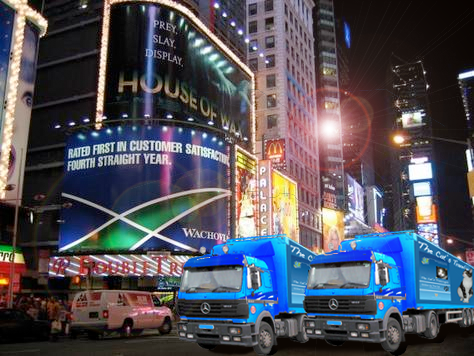 My book delivery Time Square NY