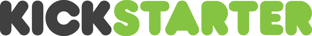 Kickstarter logo light