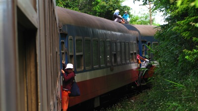 But then they like trains in Vietnam