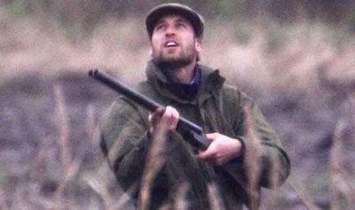 Hunting wild boar Spain