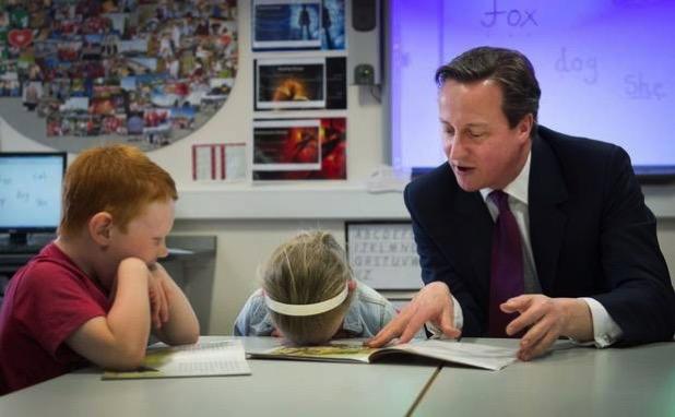 UK Election  the Children decide