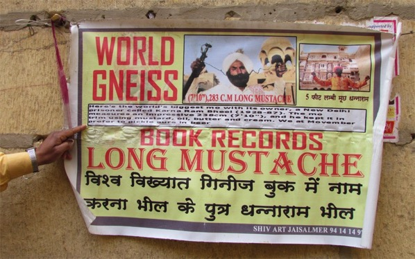 Oh they mean the Guiness Book of Records India