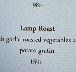 Lamp Roast